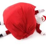 Tired Santa — Stock Photo