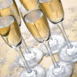 Stock Photo: Bubbly champagne