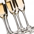 Sparkling champagne - Stock Photo