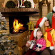 Three Santas — Stock Photo #11148417