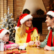 Celebrating Christmas — Stock Photo #11148457