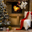 Waiting for Christmas - Foto Stock