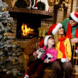 Three Santas — Stock Photo #11148484