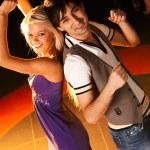 Dancing couple — Stock Photo