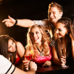 Chatting teens — Stock Photo