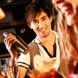 Happy barman — Stock Photo #11148672