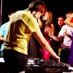 In night club — Stock Photo