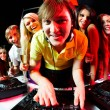 Deejay and friends — Stock Photo #11148773