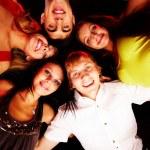 Company of friends — Stock Photo #11148796