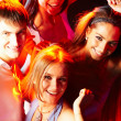 Smart clubbers — Stock Photo