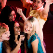 In karaoke bar — Stock Photo #11148834