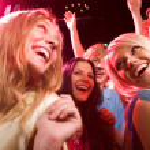 In the nightclub — Stock Photo
