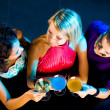 Girls at party — Stockfoto
