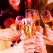 Toast for friendship — Stock Photo #11148922