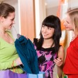 Showing new clothes - Foto Stock