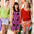 Group of shoppers - Foto Stock