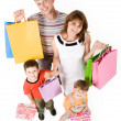 Family shopping - Stock Photo