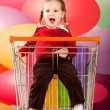 Naughty kid — Stock Photo