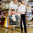 Happy shoppers - Foto de Stock