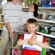 Happy shopper - Foto Stock
