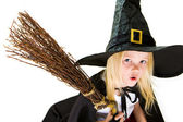 Frightening witch — Stock Photo