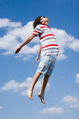 In the air — Stock Photo