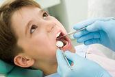 Healing teeth — Stock Photo