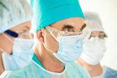 Cirurgião sênior — Foto Stock