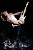 Guitar passion — Stock Photo