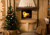 Fireplace — Foto Stock