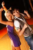 Baile de pareja — Foto de Stock