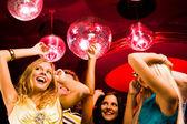 Dancing ladies — Stock Photo