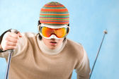 Winter sport — Stock Photo