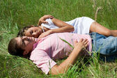 Resting couple — Stock Photo