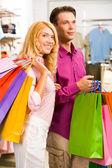 Lors de shopping — Photo