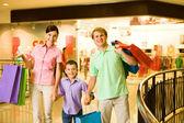Compradores felices — Foto de Stock