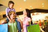 Lyckad shopping — Stockfoto