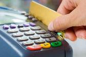 Betalen voor goederen — Stockfoto