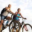 Stock Photo: Cyclers