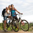 Amorous bikers — Stock Photo #11214778