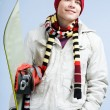 Royalty-Free Stock Photo: Snowboarder