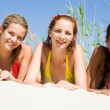 Stock Photo: Three girls