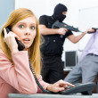 Call the police - Stock Photo