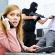 Call the police — Stock Photo