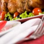 Roasted turkey — Stock Photo