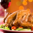 Foto Stock: Roasted poultry