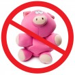 Stop pig flu — Stock Photo