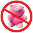 Stop pig flu — Stock Photo #11216332