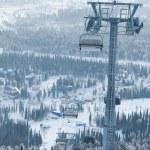 vintern underhållning — Stockfoto