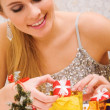 Preparing presents - Foto de Stock